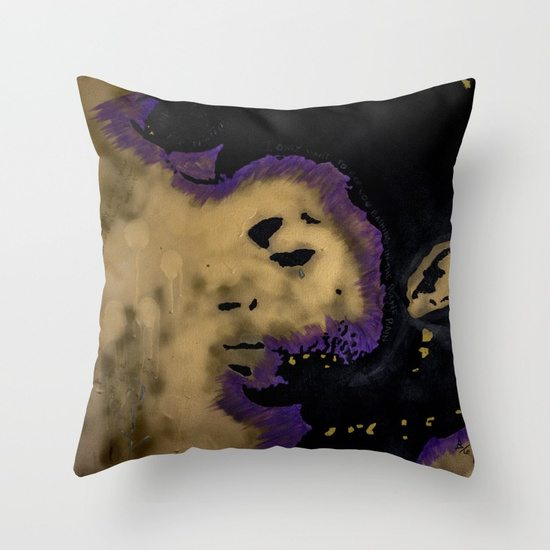 Purple King - THROW PILLOW