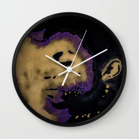 Purple King - WALL CLOCK